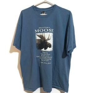 Advice from a moose tee